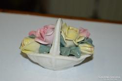 ENS porcelán kosár