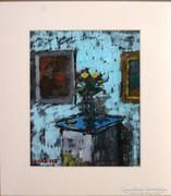 Venkei jelzéssel : Virág a szobában