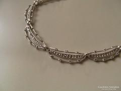 Régi markazitos ezüst nyakék