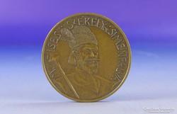 0F950 Moises Székely de Siménfalva bronz érem