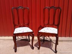 2 db restaurált barokk szék