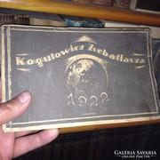 Kogutowicz Zsebatlasza 1922. Gyűjtői ritkaság!