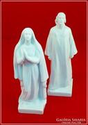 Herendi Jézus és Mária szobor