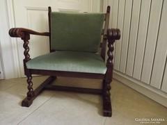 Antik koloniál fotel