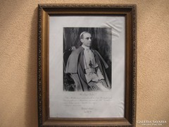 Fénykép   XII . Pius Pápáról  aláírásával