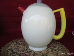 Vidám színes Arzberg kávé tea kiöntő kanna   0607/4