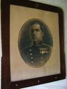 I.Vh. Katona portré (Bozzay Lajos fhdgy. 1918) grafit rajz!