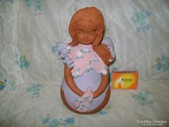 Kerámia lány figura - persely