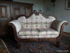 Antik bidermaier felújitott sofa 160cm