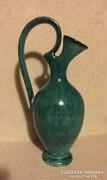 Csodás kerámia karaffa, art design by Karl HUG ceramic vase