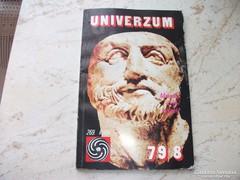 Univerzum 77/6,77/8,79/8 kötetek eladók!