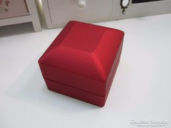 Prémium ékszerdoboz! bordó és pezsgő színű világítós doboz