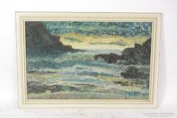 Szignózott festmény 46x67 cm