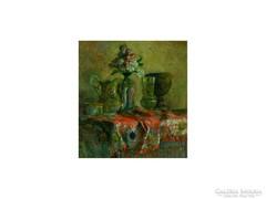 Bachmann Károly : Asztali csendélet