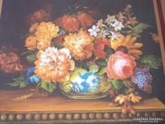 Virágcsendéletes poháralátétek
