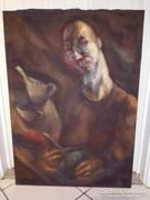 Festmény olaj vászonra