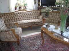 Warrings háromdarabos nappali ülőgarnitura