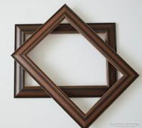 Képkeret 24x30 cm méretű képhez,új ,hibátlan-csokoládé színű