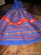 Csodaszép vintage szőttes női táska új