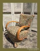 Romantiks Art deco fotel,garnitúra része
