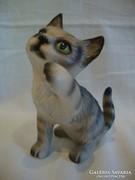 Goebel porcelán cica