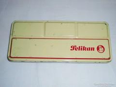 Fémdoboz pléh doboz - Pelikan vízfesték