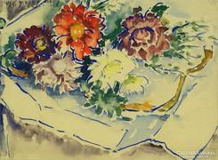 Pécsi-Pilch Dezső : Virágok dobozban 1930