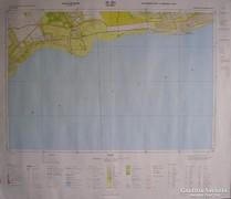 Balaton térképek, 15 db.
