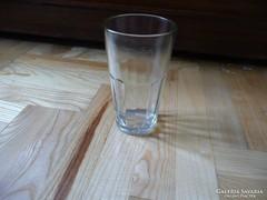 Retro vendéglátó ipar feliratú pohár 80-s évek, vastag üveg