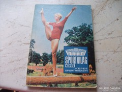 Sportvilág 65 képes magazin eladó!