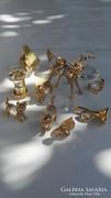 Swarowskibol csiszolt angol kristaly figurak