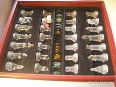 Fa dobozos sakk és korong játék /31./