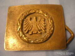 U4 katonai övcsat antik ritkaság Sas díszes