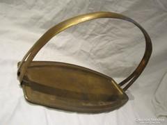 Art Deco réz kínáló tál  asztalközép