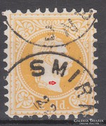 1882. Ausztria-Levante, 2 Soldi finom nyomás+hiba!