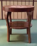Art Deco kerek asztalka