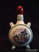 Zsolnay porcelán kis kulacs