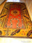 Antik Kézi csomózású Kazak Perzsa szőnyeg