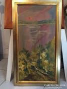 Eredeti Molnár Bertalan festmény,GYŰJTŐK figyelmébe ajánlom