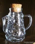 Régi üveg kiöntő - fűszeres