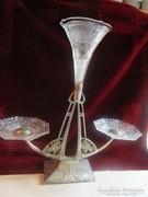 SZECESSZIÓS WMF kináló eredeti üvegbetét BÉCS 1908
