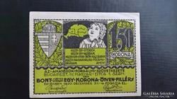 Amatőrök 1,5 Korona Bp.1920.