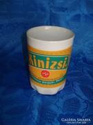 Zsolnay porcelán sörreklámos csésze