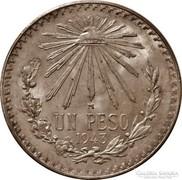 Mexikói ezüst 1 peso 1943