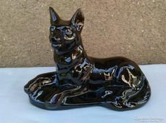 Régi dísztárgy - kutya/farkas