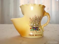 Mini porcelán borotvahab tálka