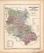 Szepes - vármegye térkép 1905, eredeti