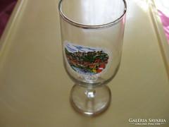 Salzburg látképes pohár