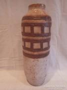 Várdeák Ildikó retro iparművész kerámia váza