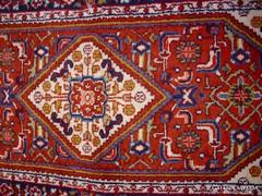 Antik perzsaszőnyeg kézi csomós vastag